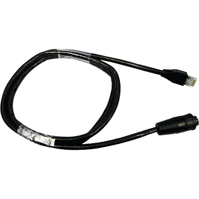Raymarine Adapter Cable, RayNet to Male RJ45, 1M