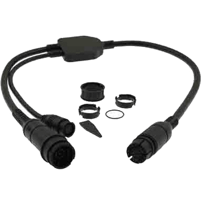 Raymarine Adapter Y-Cable, 25 Pin to 25 & 7 Pin
