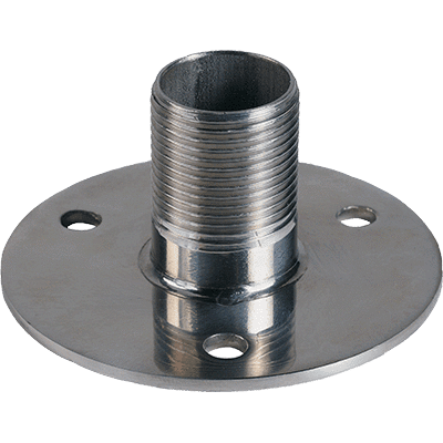 "Shakespeare 1"" High Stainless Flange Mount"