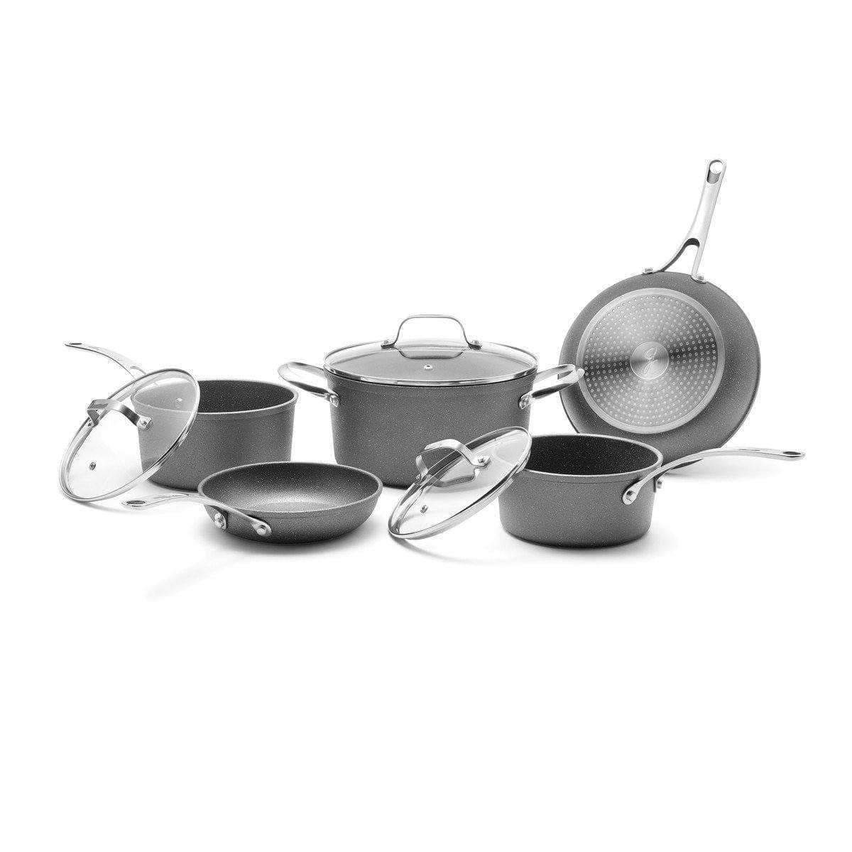 Starfrit Kitchen The Rock 8 Piece Cookware Set