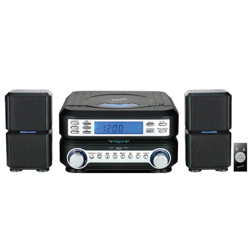 Supersonic Home Stereo Systems Supersonic Portable Micro System with Bluetooth, CD Player, AUX Input & AM-FM Radio