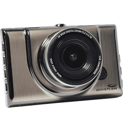 "The Whistler Group Dash Cam, 3"" LCD, 1080p"
