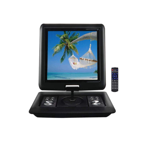 Trexonic DVD Players Portable Trexonic 15.4 Inch Portable DVD Player with TFT-LCD Screen and USB-SD-AV Inputs