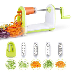 vendor-unknown Kitchen SimpleTaste Spiral Slicer 5 Blades Spiralizer, Vegetable Cutter and Shredder for Zucchini Noodles, Veggie Spaghetti, Pasta