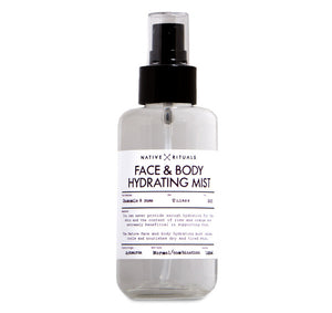 Hydrating mist - Native Rituals
