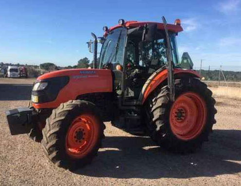 KUBOTA M9540 , YEAR 2017 , 2300 HOURS