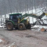 JOHN DEERE 5055 WITH  LOG GRAB ATTACHMENT, YEAR 2013, 3000 HOURS