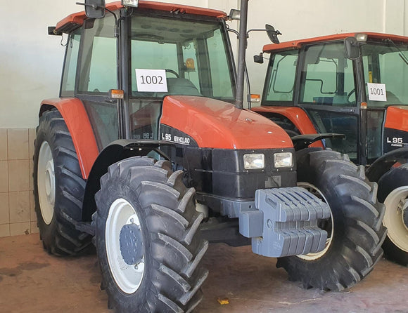 NEW HOLLAND L95, 1998, 9970 HOURS