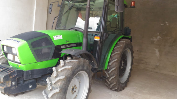 DEUTZ FAHR AGROFARM 410, 2015 YEAR, 731 HOURS