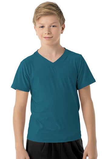 Dark Teal Short Sleeve Shirt
