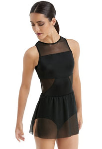 Leotard with Mesh Skirt