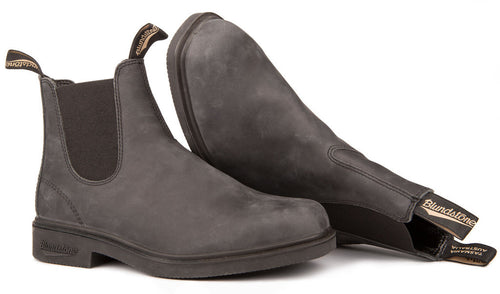 Blundstone #1308 - Chisel Toe Boot (Rustic Black - pair)