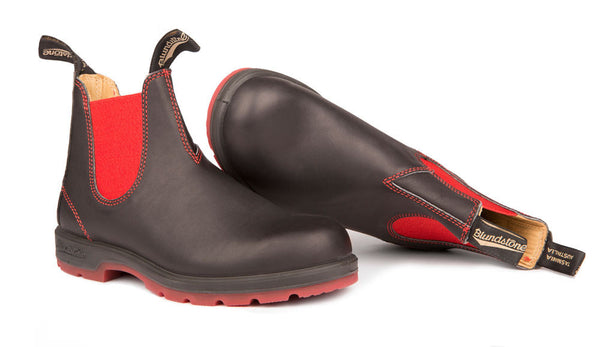 Blundstone #1316 - Two-Tone Sole Boot (Red & Black - pair)