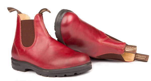 Blundstone #1431 - Leather Lined Boot (Burgundy Rub - pair)