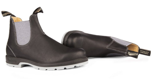Blundstone #1452 - Two-Tone Sole Boot (Black & Grey) - DISCONTINUED