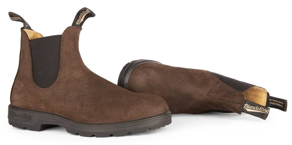Blundstone #1606 - Leather Lined Boot (Brown Nubuck)