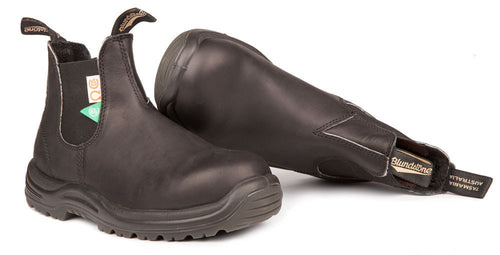 Blundstone #163 - CSA Greenpatch (Black - pair)