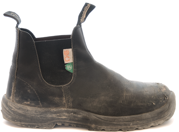 Blundstone #163 - CSA Greenpatch (Black)