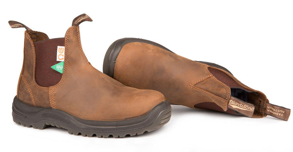 Blundstone #164 - CSA Greenpatch Boot (Crazy Horse Brown - pair)