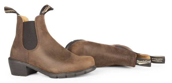 Blundstone #1673 - Women's Heeled Boot (Antique Brown)