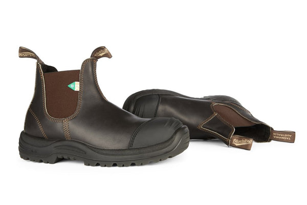 Blundstone #167 - CSA Greenpatch Boot w/ Toe Cap (Stout Brown)