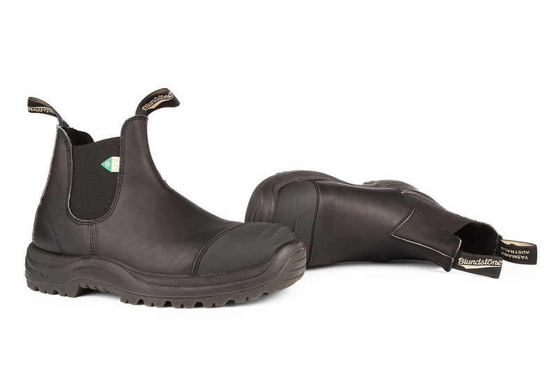 Blundstone #168 - CSA Greenpatch Boot w/ Toe Cap (Black)