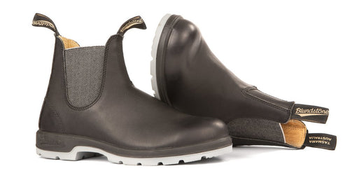Blundstone #1943 - Two-Tone Sole Boot (Black & Grey) - DISCONTINUED