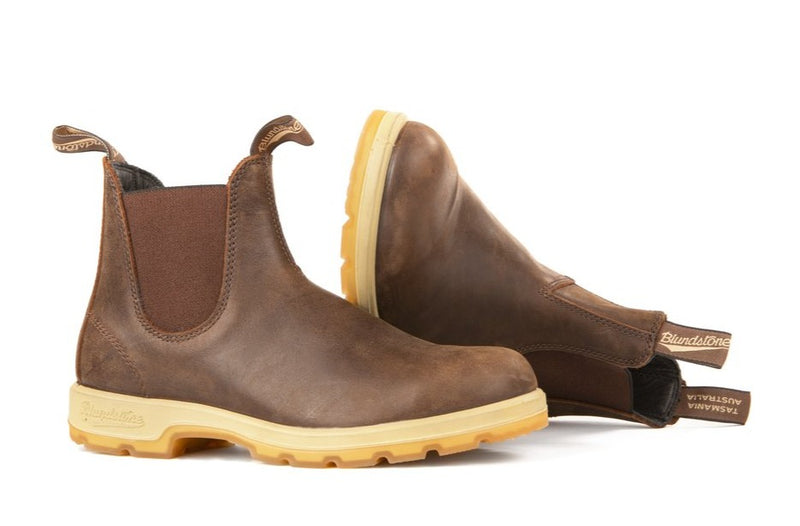 Blundstone #1946 - Two Tone Sole Boot (Antique Brown) - DISCONTINUED
