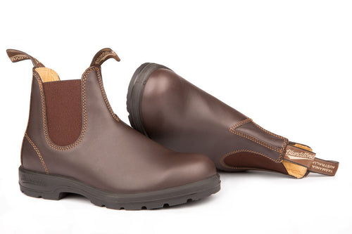 Blundstone #550 - Leather Lined Boot (Walnut - pair)