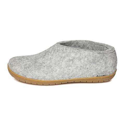 Glerups Slipper - Shoe Cut (Natural Rubber Sole)