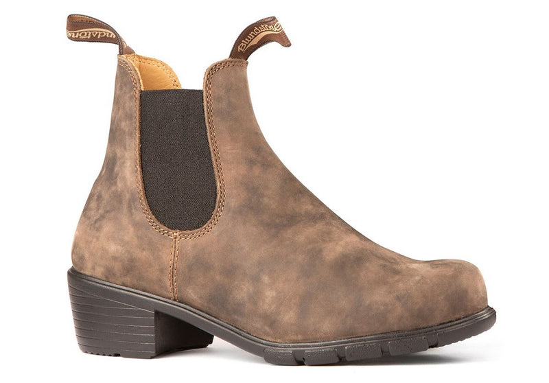 Blundstone #1677 - Women's Heeled Boot (Rustic Brown)