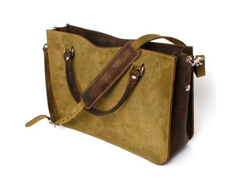 Chaga Tote (Moss Green)- JMB/King Mountain