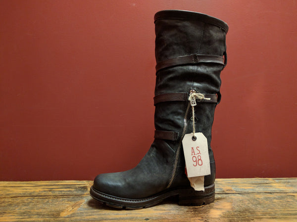 709327 Tall Boot (Smoke) - A.S. 98