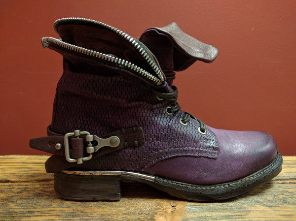 717298 Ankle Combat Boot (Purple) - A.S. 98