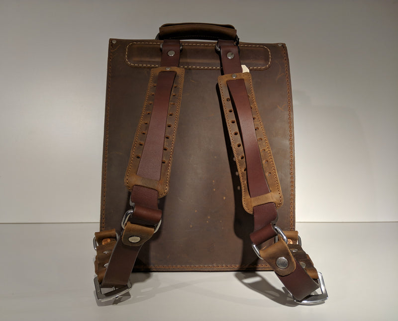 Transit Backpack (Oiled Brown) - JMB/King Mountain