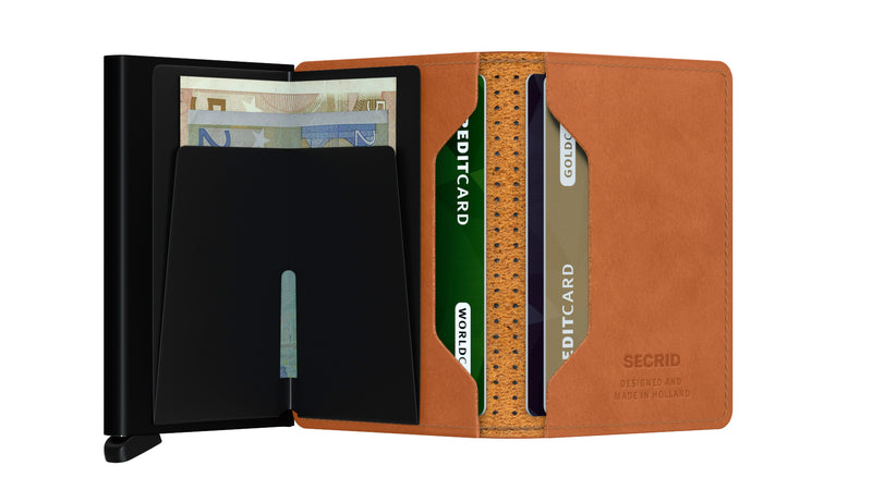 "Perforated Leather ""Slimwallet"" - Secrid"