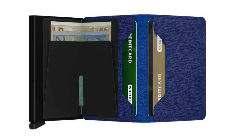 Crisple Leather Slimwallet