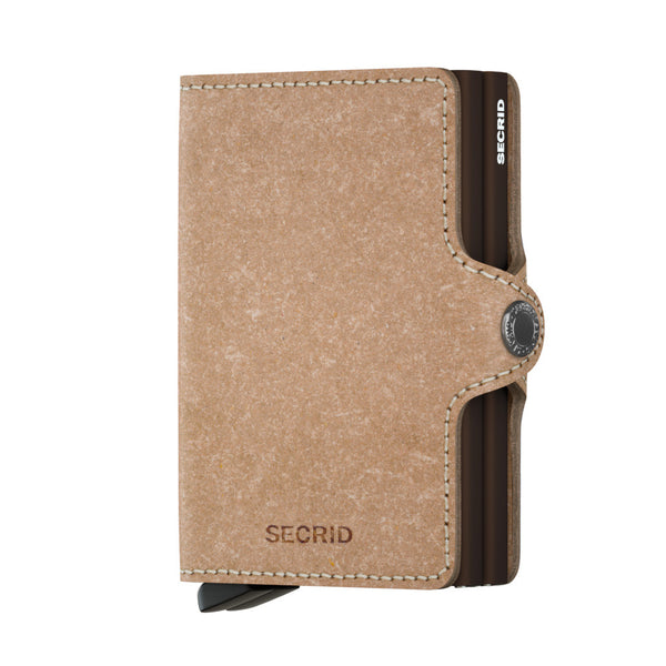 "Recycled Leather ""Twinwallet"" - Secrid"