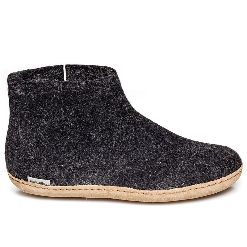 Glerups Slipper - Ankle Boot Cut