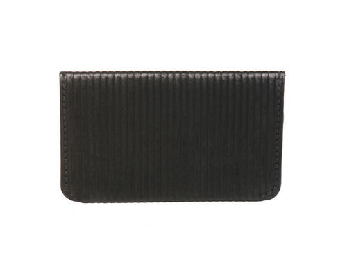 Juno Card Case *RFID* (Black Corduroy) - JMB/King Mountain