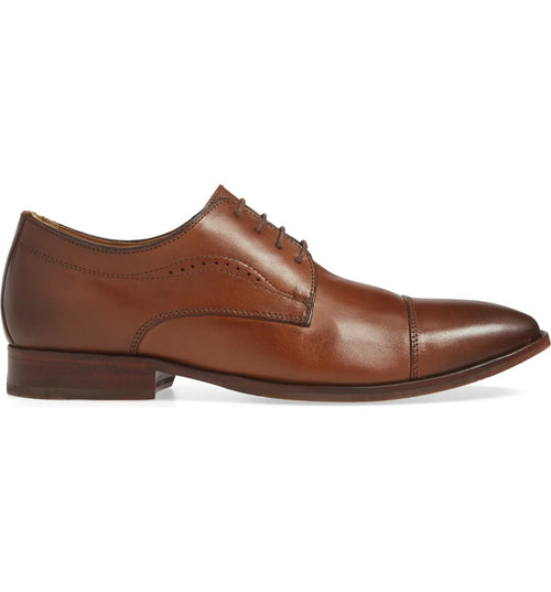 McClain Cap Toe (Tan) - Johnston & Murphy