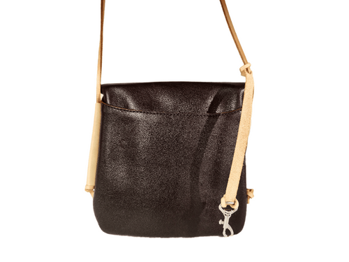 Umi Shoulder Bag (Dark Brown/Natural Straps) - JMB/King Mountain