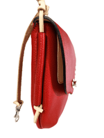 Umi Shoulder Bag (Pebbled Red) - JMB/King Mountain