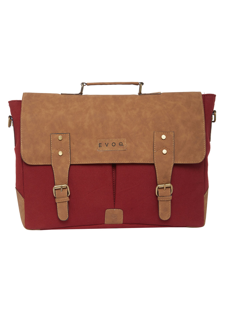 Red Monkey - Vegan Laptop Messenger Bag