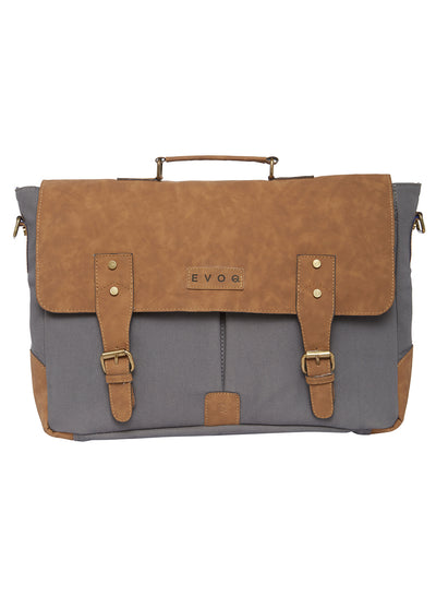Blue Monkey - Vegan Laptop Messenger Bag - EVOQ