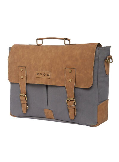 Blue Monkey - Vegan Laptop Messenger Bag