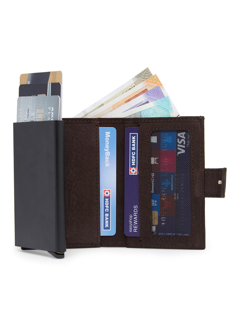 Chocoholic Leather Cardholder (RFID Secured) - EVOQ