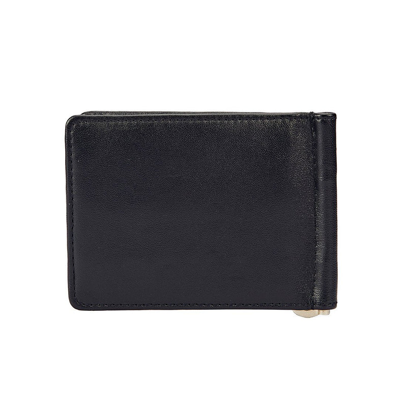 Black and Red Money Clipper - Black and Red Wallet - EVOQ