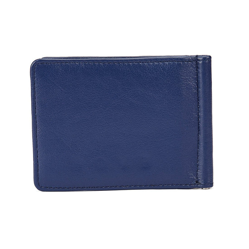 Blue and Black Money Clipper - Blue and Black Wallet, Money Clipper, EVOQ, EVOQ - evoqstyle.com