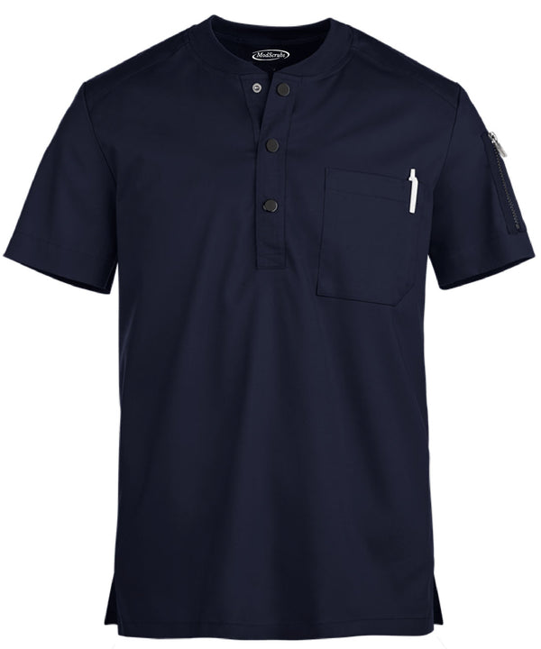 Men V-Neck one pocket scrubs
